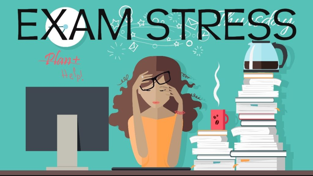 tips to deal with exam stress