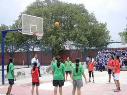 Sports form a major part of school's cirriculum